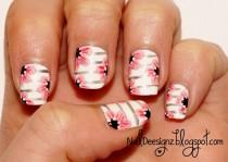 wedding photo - Flower Nail Art