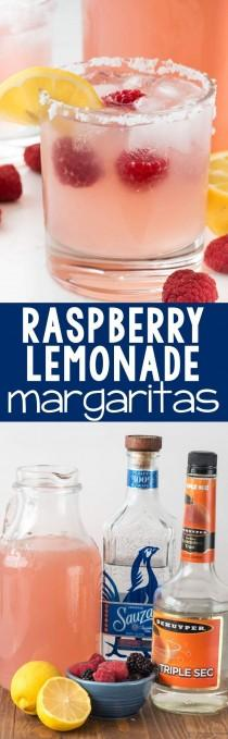 wedding photo - Raspberry Lemonade Margaritas
