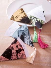 wedding photo - 扇子風席次表&メニュー表の作り方をご紹介