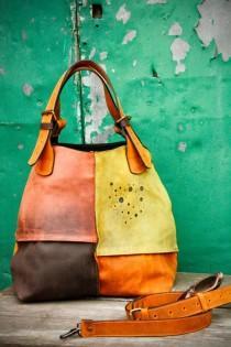 wedding photo - Oversized Bag Ladybuq Woman Design Bag Alicja Whiskey