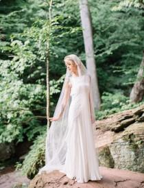 wedding photo - Bohemian Meets Art Deco Wedding In The Mountains - Weddingomania