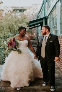 wedding photo - New Orleans meets foodie details at this Atlanta wedding