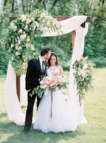 wedding photo - Summer Floral Legacies Inspiration shoot