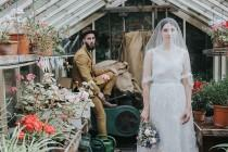wedding photo - Emilie and Soloman's Beautiful Hipster Countryside Wedding