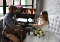 wedding photo - Would you consider REAL tattoo wedding favors at your wedding?