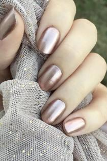 wedding photo - Sally Hansen's Terra Coppa Shade Sells Every 2 Minutes