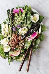 wedding photo - Spring Cobb Salad