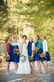 wedding photo - Wildflower Wedding Bouquets