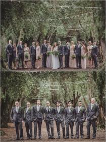wedding photo - Cool Groomsmen Attire Ideas