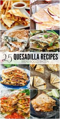 wedding photo - 25 Quesadilla Recipes