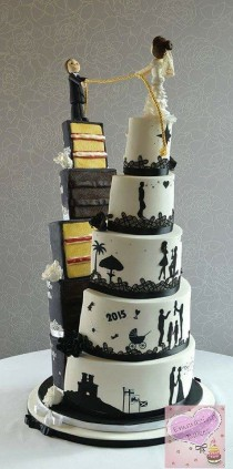 wedding photo - Deliciously Gorgeous Wedding Cakes