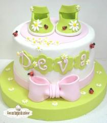 wedding photo - Baby Shower Cake