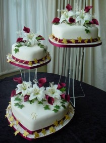wedding photo - The Yetunde Wedding Cake, By Franziska Of Wedding Cakes By Franziska