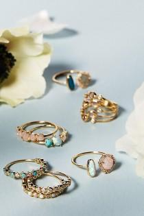 wedding photo - Rosaline Ring Set