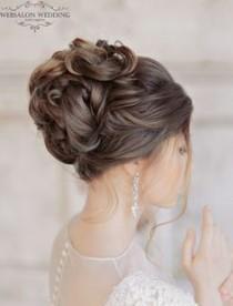wedding photo - Glamorous Wedding Hairstyles With Elegance
