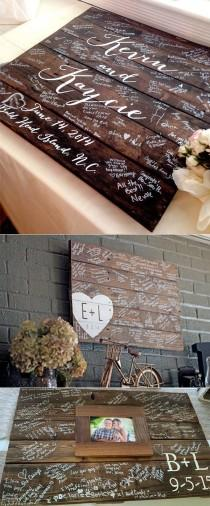 wedding photo - 20 Must-See Non-Traditional Wedding Guest Book Alternatives