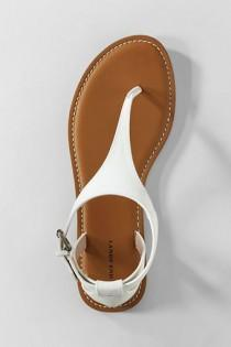 wedding photo - Women's Tia T-Strap Sandals From Lands' End