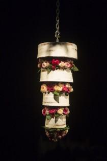 wedding photo - Upside Down Wedding Cake   Mariana Hardwick Wedding Dress For A Country Wedding