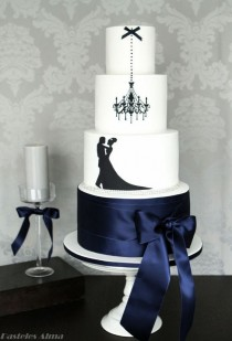 wedding photo - Top 19 Elegant Black Cake For Halloween Wedding – Easy Party Design Decor Project