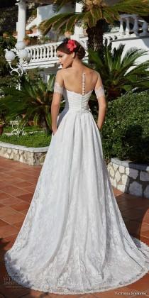 "wedding photo - Victoria Soprano 2017 Wedding Dresses — ""Capri"" Bridal Collection"