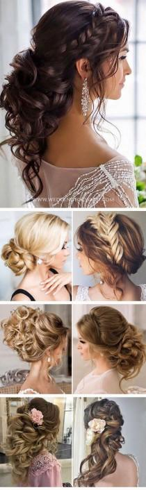 wedding photo - 33 Trendy Swept-Back Wedding Hairstyles