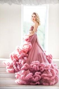 wedding photo - Dress Cloud , Wedding Dress , Tulle Wedding Dress , Wedding Dress-cloud , Photo Studio Dress