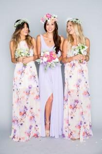 wedding photo - 50 Chic Bohemian Bridesmaid Dresses Ideas