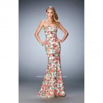 wedding photo - Multi La Femme 22820 - Simple Dress - Customize Your Prom Dress