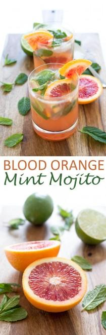 wedding photo - Blood Orange Mojito