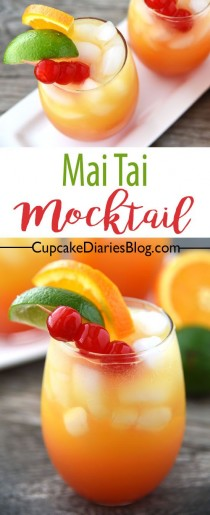 wedding photo - Mai Tai Mocktail