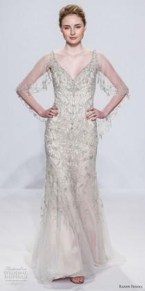 wedding photo - Randy Fenoli Bridal Spring 2018 Wedding Dresses — New York Bridal Fashion Week Runway Show
