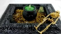 wedding photo - Boil And Bubble Witches Brew Scented Cauldron Dunker Bath Bombs!