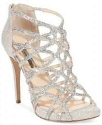 wedding photo - INC International Concepts Women's Sharee High Heel Rhinestone Evening Sandals, Only At Macy's
