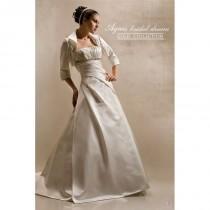 wedding photo - Agnes 10052 Agnes Wedding Dresses Gold Collection - Rosy Bridesmaid Dresses
