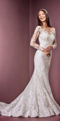 wedding photo - 36 Lace Wedding Dresses That You Will Absolutely Love
