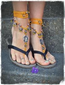 wedding photo - Barefoot Sandals