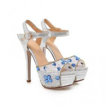 wedding photo - Rhinestone Wedding Shoes