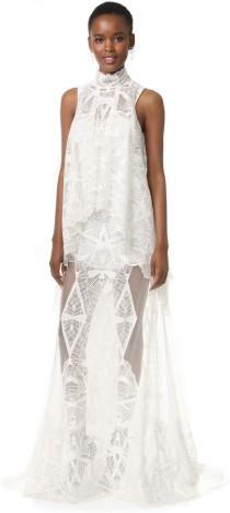 wedding photo - Jonathan Simkhai Layered Lace Gown
