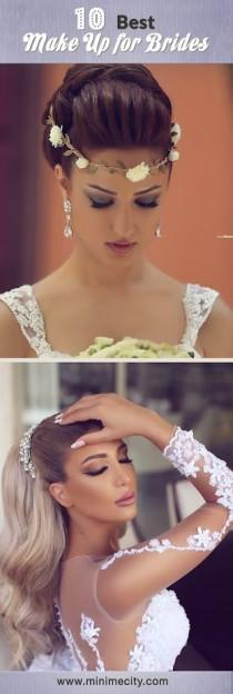 wedding photo - 10 Best Make Up For Brides