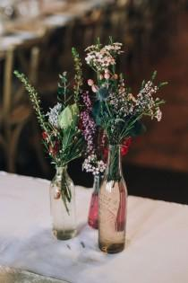 wedding photo - A Boho Country Wedding With Native Flowers