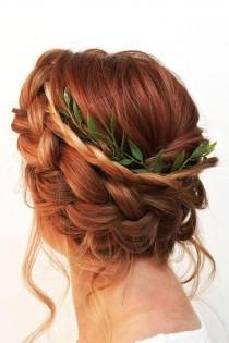 wedding photo - Braid Half Up Half Down Hairstyle For Long Hair That You'll Love