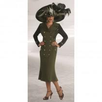 wedding photo - Donna Vinci 13089 Knit Church Dress - Brand Prom Dresses