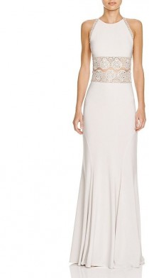 wedding photo - Bloomingdale's - Mignon Boho Illusion Lace Detail Gown