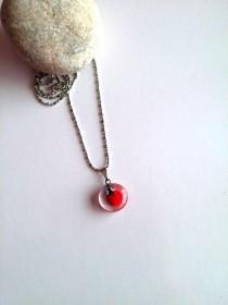 wedding photo - Ladybug Necklace, Women Necklace, Ladybug Charm Necklace, Insect Jewelry, Ladybug Jewelry, Gift For Her, Ladybird Necklace