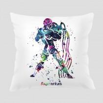 wedding photo - Aquarius 2 Throw Pillow, Watercolor Aquarius Pillow, Pillow Cover, Accent Pillow, Home Decor