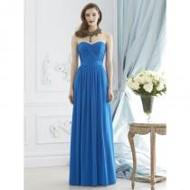 wedding photo - Dessy Collection 2942 Open Back Chiffon Bridesmaid Dress - Crazy Sale Bridal Dresses