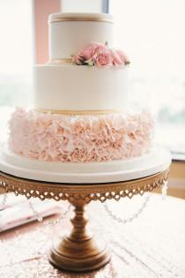 wedding photo - Pretty In Pink Florida Wedding At The Citrus Club