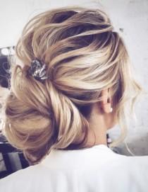 wedding photo - Wedding Hairstyle Inspiration - Tonyastylist (Tonya Pushkareva