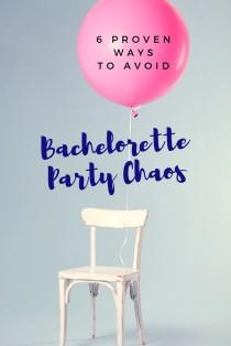 wedding photo - 6 Proven Ways You Can Avoid Bachelorette Party Chaos