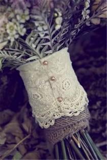wedding photo - 22 Rustic Burlap Lace Wedding Ideas